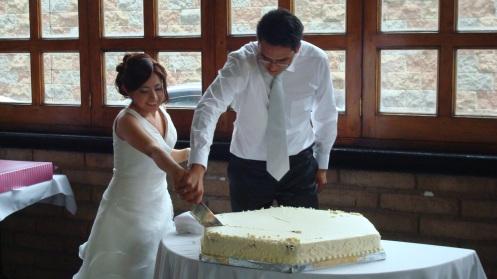 El pastel. Alguien tiene fotos de la comida???